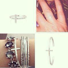 Cross Ring & Cross Cuff by Stella & Dot #stelladot #stelladotstyle #sdarmparty #armcandy