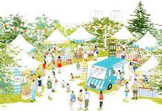 12月13日(土)・14日(日)、東京・勝どきの月島第二児童公園にて「太陽のマルシェ」を開催!日本全…
