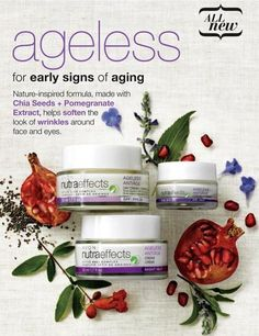 Avon Nutra Effects Ageless: for early signs of aging #skincare