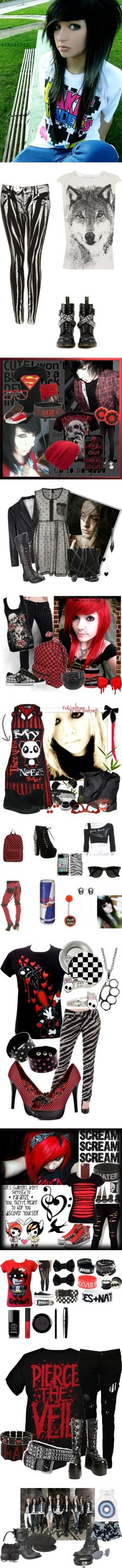 I love,love,love the wolf shirt! :0 also not to mention EVERTRHING ELSE XD I have that Bullet For My Valentine shirt :D