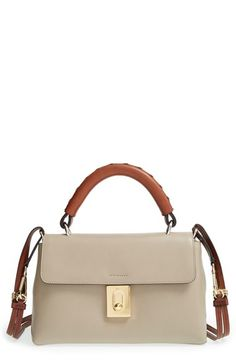 Chloé 'Small Fedora' Leather Satchel available at #Nordstrom