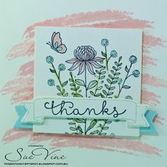 Miss Pinks Craft Spot: In Bloom with Flowering Fields