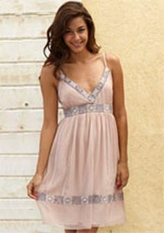 Bliss Embroidered Tank Dress #Glimpse_by_TheFind