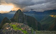 I took this shot in the late afternoon, just as the sun was setting behind the mountains to the west of the ruins. I ran up to a high vantage point, desperate not to miss the sun beam being cast behind Huayna Picchu, also trying to take as many photos as possible just before closing time when nobody else was around.