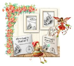 digital papers Instant download by dragonflyadele on Polyvore featuring arte