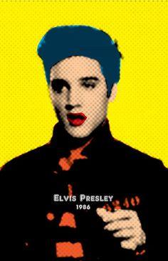 Andy Warhol Elvis Pop Art | thejoyker1986 › Portfolio › Elvis Presley with Andy Warhol Pop Art