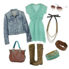 Country Chic Weekend Outfit, created by bentleyhale.polyvore.com