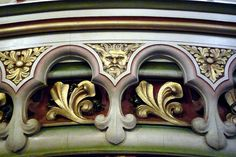 Castle Coch Castle - near Cardiff in Wales - architectural detail Neo-Gothic style - photo  by the other Bailey