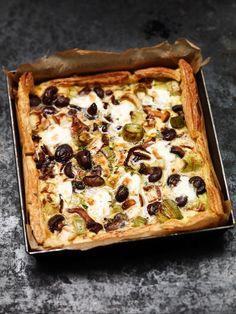 hartige taart met prei en kastanjechampignons | ZTRDG magazine