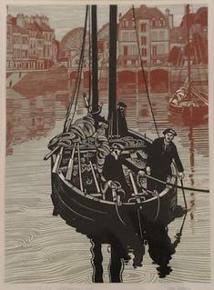 Entering Harbour, by Trevor Sowden