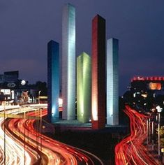 Barragan, Luis: Satélite Towers, Mexico