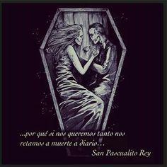 San Pascualito Rey Skeleton Love, Skeleton Art, La Muerte Tattoo, Tattoo Drawings, Art Drawings, Art Sketches, Dibujos Dark, Death Aesthetic, Horror Themes