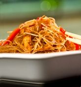 Flavorful Thai Glass Noodles (this recipe can also be made with thin rice noodles)
