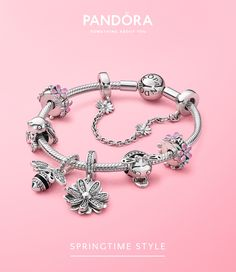 From daisy charms to nature inspired necklaces, step into the Pandora Garden. Celebrate spring with our new floral jewelry collection. Pandora Bracelet Charms, Pandora Jewelry, Pandora Pandora, Charm Bracelets, Beautiful Diamond Rings, Bracelet Designs, Jewelry Collection, Spring Collection, Bridal Jewelry