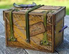 ** Altered Storage Box Tutorial @papillonsurlabranche