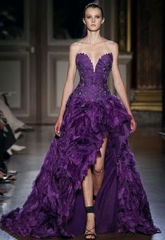 zuhair-murad-couture-fall-winter-2012-purple-side-slite-layered-bridal-dresses.jpg (413×600)