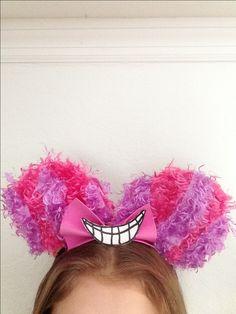 cute, awesome Diy Disney mickey & minnie ears chesire cat