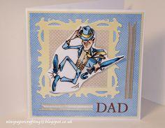 xx Nins Handmade Cards xx: Tap Dancing Heel Click