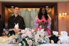 asianblackcouples: Yohei Kamiya, Japanese, chef in Nagoya, and his African American wife, Tara Kamiya. Read more at http://asianblackcouples.com/celebrity-japanese-and-black-couples-past-and-present/