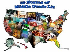 50 States of Middle Grade Lit--DCG Middle School Library