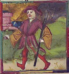 Astrologisch-astronomisch-mantische Sammelhandschrift / Heidelberger Schicksalsbuch Illustrationen: Berthold Furtmeyr und Werkstatt (Thomas Schilt? Cod. Pal. germ. 832 [Regensburg], nach 1491 Folio 60r