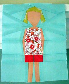 All sizes | paper pieced daughter, via Flickr.