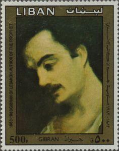 """""""GIBRAN LÍBANO AUTOR DE EL PROFETA""""(1883-1983)""""GIBRAN""""."""