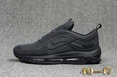 Cheap Off White X Nike Air Max 97.2 KPU Mens shoes #Black #Max97.2 WhatsApp:8613328373859