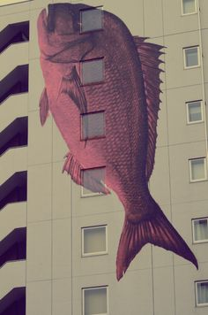 Fishy apartments. Tsukiji, Tokyo.