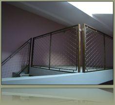 garde corps antichute en filet inox x tend garde corps pinterest. Black Bedroom Furniture Sets. Home Design Ideas