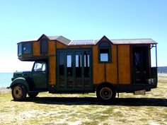 The Flying Tortoise: Kim And Dana's Immaculate 1978 Bedford Housetruck Is A Wonderful Blend Of Tradition and Modern...