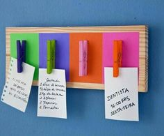 Diy memo board - Little Piece Of Me Diy And Crafts, Crafts For Kids, Craft Projects, Projects To Try, Ideias Diy, Ideas Geniales, Diy Home Decor, Diys, Handmade