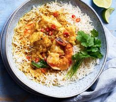 Asda Good Living   Vietnamese style cod, prawn and coconut curry