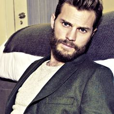 Jamie Dornan. Majestic beard though. For reals.