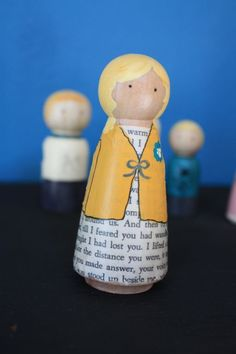 book peg doll