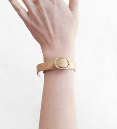 Single Wrap Leather Bracelet | $25