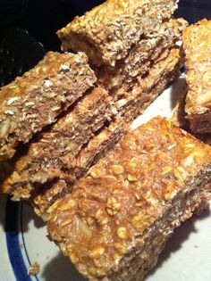 Homemade Protein Bars recipe     This one looks delicious and has basic inexpensive ingredients....