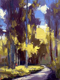"""""""Life"""" by David Mensing www.davidmensingfineart.com Absolutely stunning use of color and light!"""