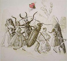 """Ladybird, ladybird"" - Nursery Rhymes by Paula Rego"