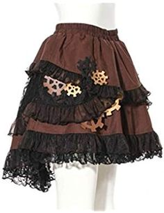#Lolita Mode, #Steampunk Lolita.   Kombination aus Lolita-Mode und Steampunk-Mode