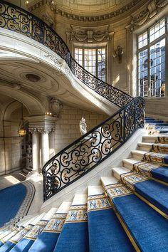 """italian-luxury: """"L'escalier d'honneur """""""