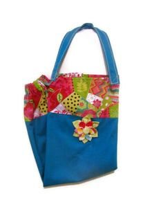Fabric Plastic Bag HolderGrocery Bag Holder by bagsbyhags45, $9.75