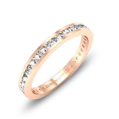 Alliance diamant or rose Daisy, Bague mariage Zeina Alliances – Alliance – Alliance Mariage Or Rose, Rose Gold, Daisy, Makeup Brushes, Gold Rings, Face Makeup, Wedding Rings, Engagement Rings, Jewels