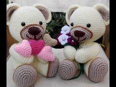 Orsetto Uncinetto - Amigurumi Tutorial- Bear Crochet - Osito Croche - Suportar Urso Croche - YouTube