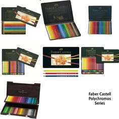 Faber-Castell Polychromos Color Pencil 12, 24, 36, 60, 72, 120, 120 wood #FaberCastell