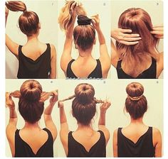 Excellent Buns Sock Buns And Other On Pinterest Short Hairstyles Gunalazisus