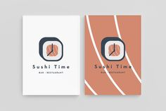 Sushi Time (Branding) by Stumedia , via Behance