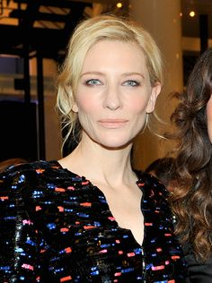 Cate Blanchett at the Giorgio Armani Oscars Party Cate Blanchett Oscar, Celebrity Pictures, Celebrity Style, Melbourne, Oscars 2014, Photo Makeup, Giorgio Armani, Hair Makeup, Actresses