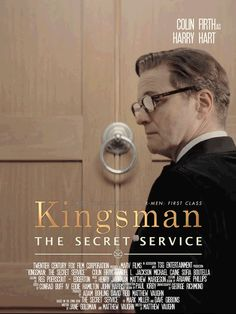 Colin Firth in Kingsman: The Secret Service ~ animated film posters ~ click-thru for more (Eggsy, Merlin, JB, etc.) | by miss-bronte.tumblr