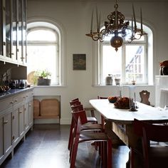Discover kitchen design ideas on HOUSE - design, food and travel by House & Garden. This traditional kitchen comes from the Ilse Crawford designed Ett Hem hotel in Stockholm.